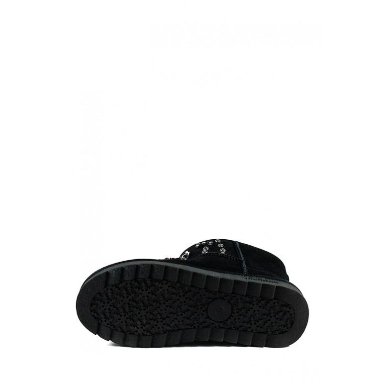 Угги женские Sopra ZL018 черные