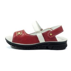 [:ru]Сандалии для девочек TiBet 10 красно-белые[:uk]Сандалії для дівчаток TiBet червоний 19508[:]