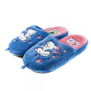 Тапочки комнатные детские Home Story 91850-AC голубые