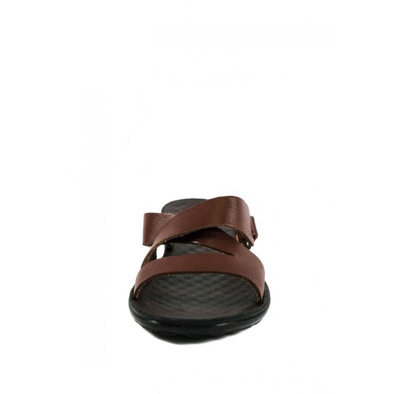 Шлепанцы женские TiBet 234 коричневые