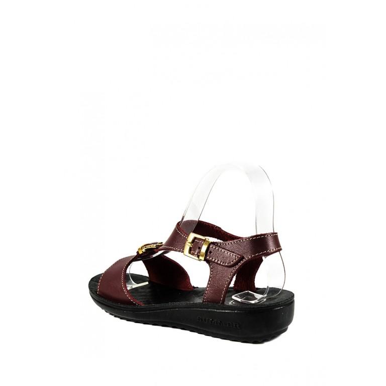 Сандалии женские TiBet 492-03-06-1 бордовые