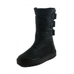 Сапоги подростковые MIDA 34185-624Ш черные