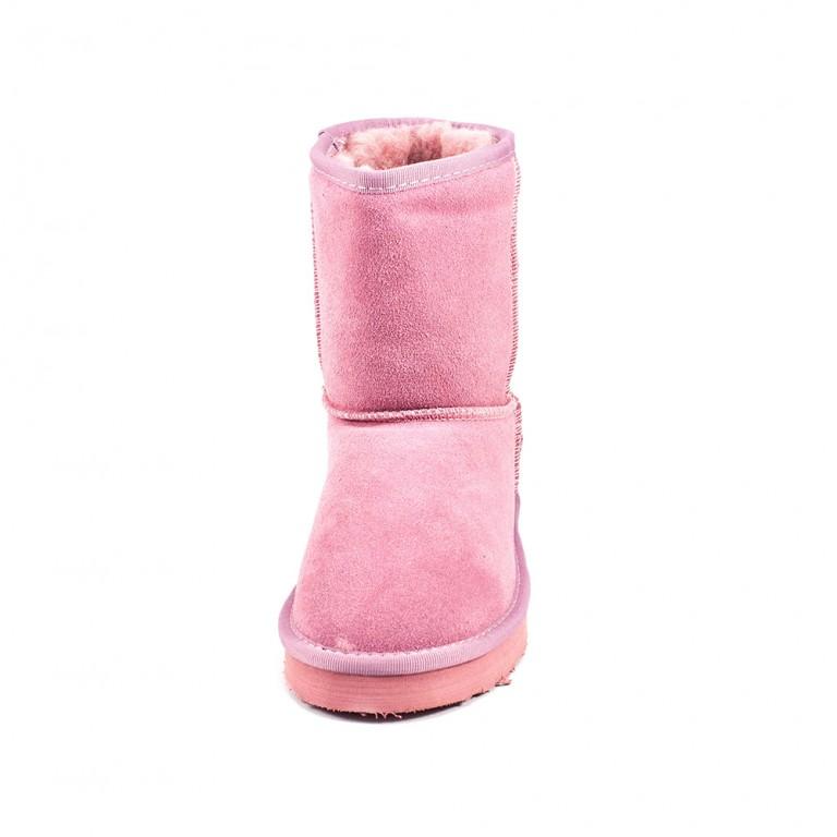 Угги женские Sopra L5825 розовая замша