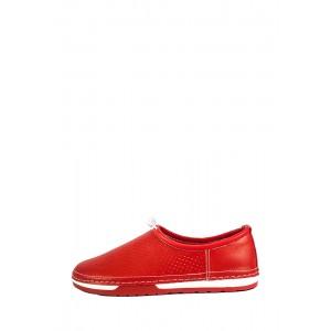 Мокасины женские Allshoes СФ 1979-3K красные