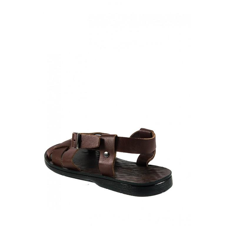 Сандалии мужские TiBet 310-03-04 коричневые