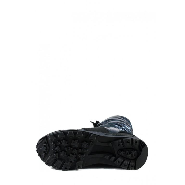 Ботинки зимние женские Lonza 91181-Z545 голубые