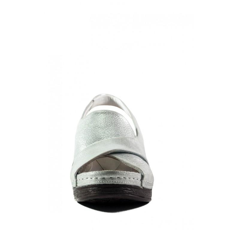 Босоножки женские летние Anna Lucci СФ 09-18 серебряные
