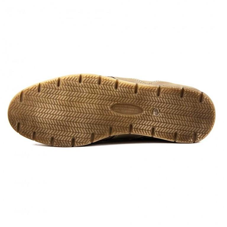 Мокасины мужские Maxus КМ пр светло-коричневый нубук