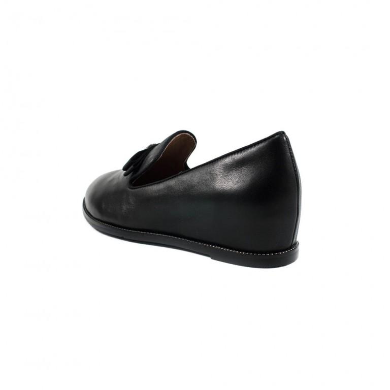 Туфли женские Anna Lucci D3220-81-1062 черная кожа