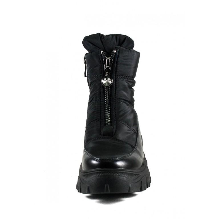 Ботинки зимние женские Prima D'arte 1616-L502-1 черные
