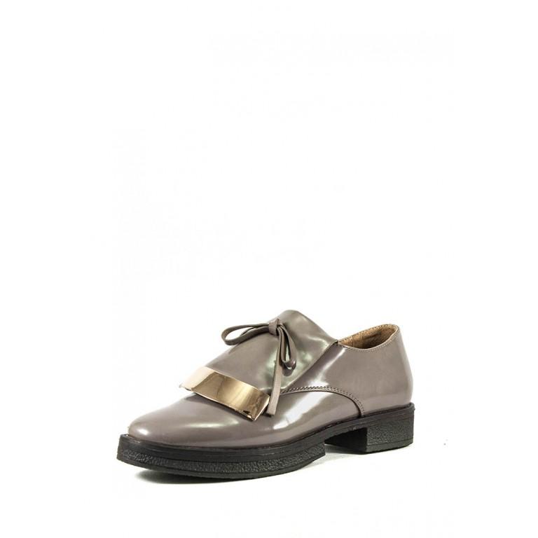 Туфли женские Elmira i5-162T кофейные