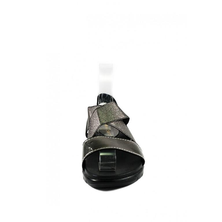 Сандалии женские Prima D'arte HR-2L322-6 серебрянные