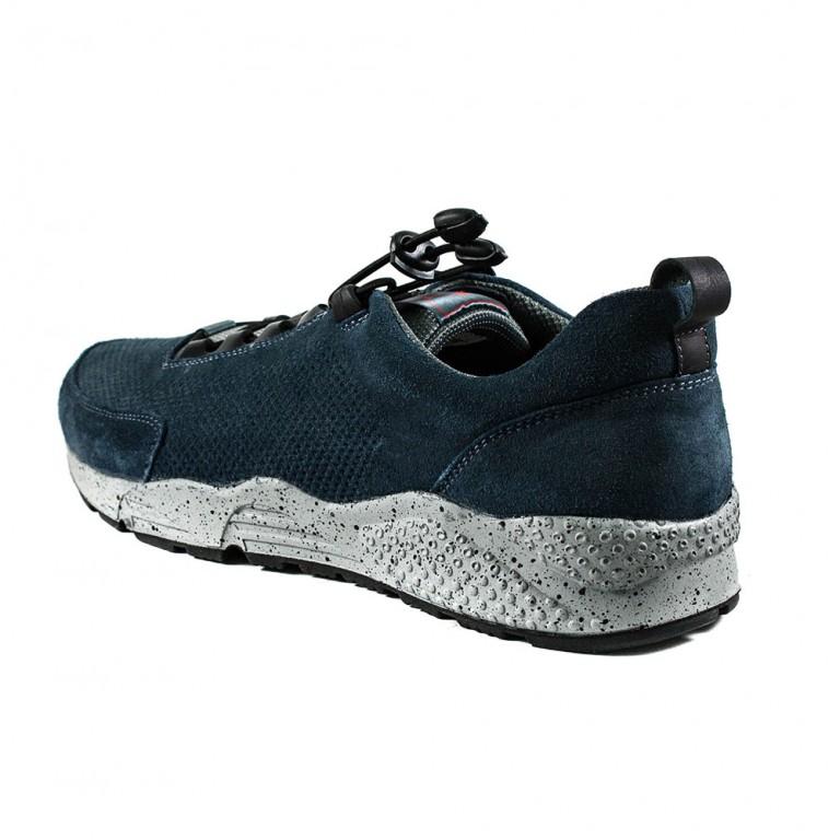 Кроссовки мужские MIDA 110717-78 синий нубук