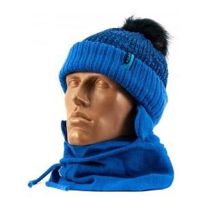 1336Irys шапка-шарф синий 46-48