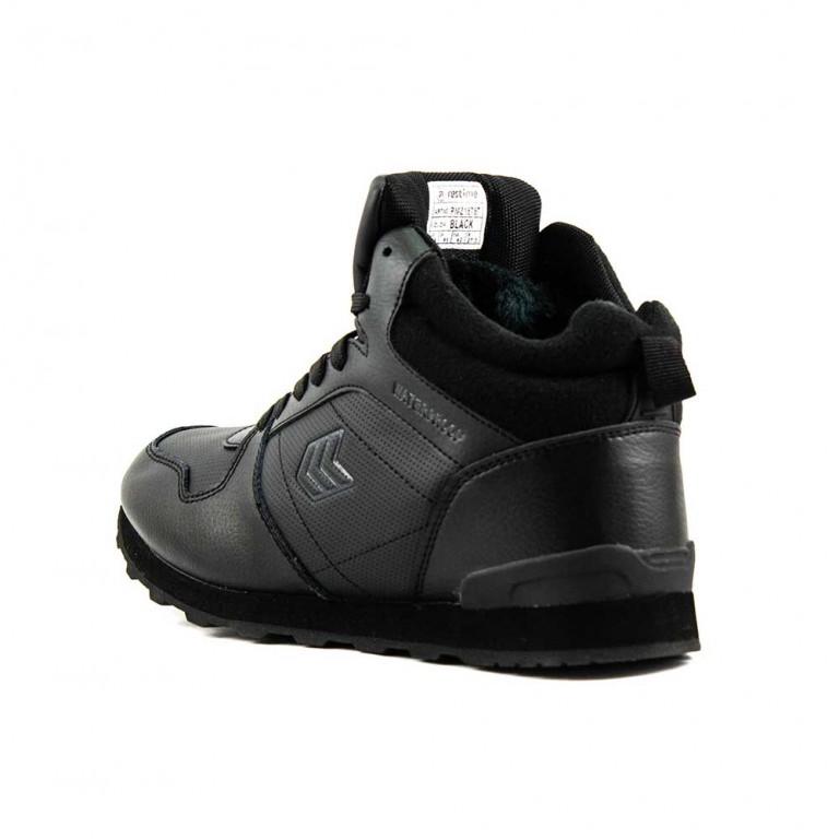 Ботинки зимние мужские Restime PMZ18787 черные