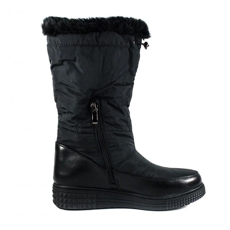 Сапоги зимние женские Prima D'arte Z7030A-B001  черные