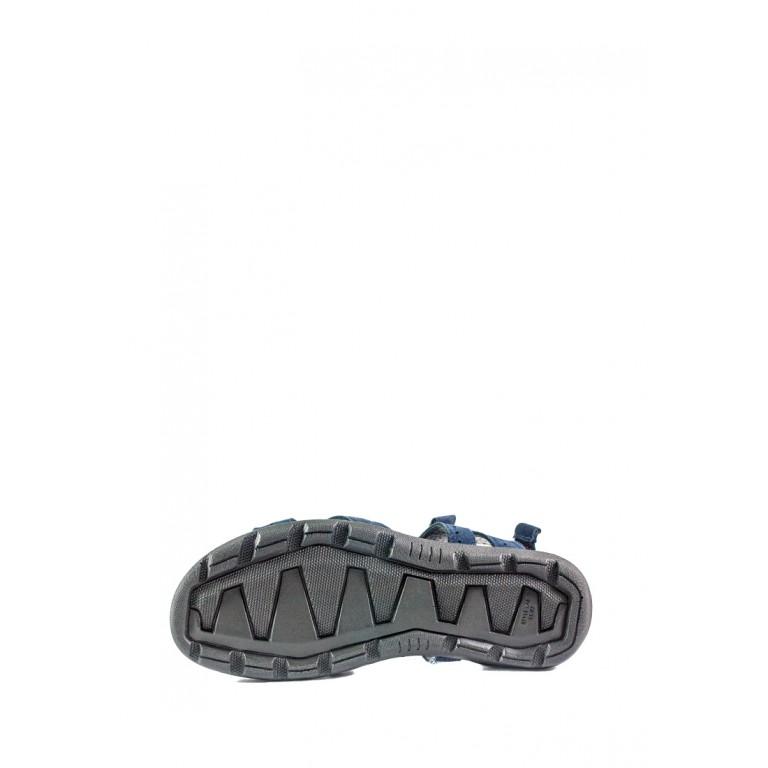 Сандали мужские MIDA 130041-12 т.синий нубук