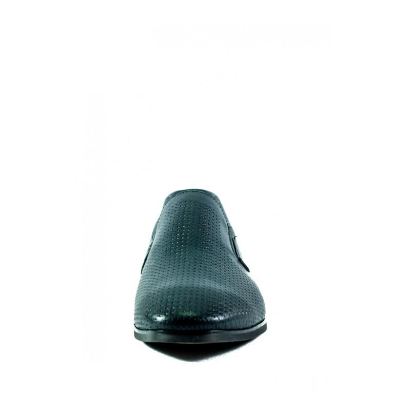 Туфли мужские MIDA 13399-29 синяя кожа