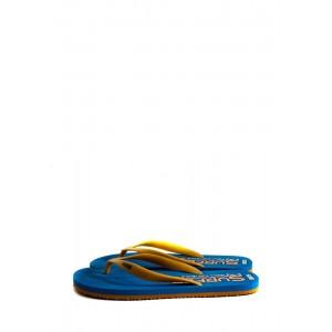 Вьетнамки мужские Bitis 8180-E оранжево-голубые