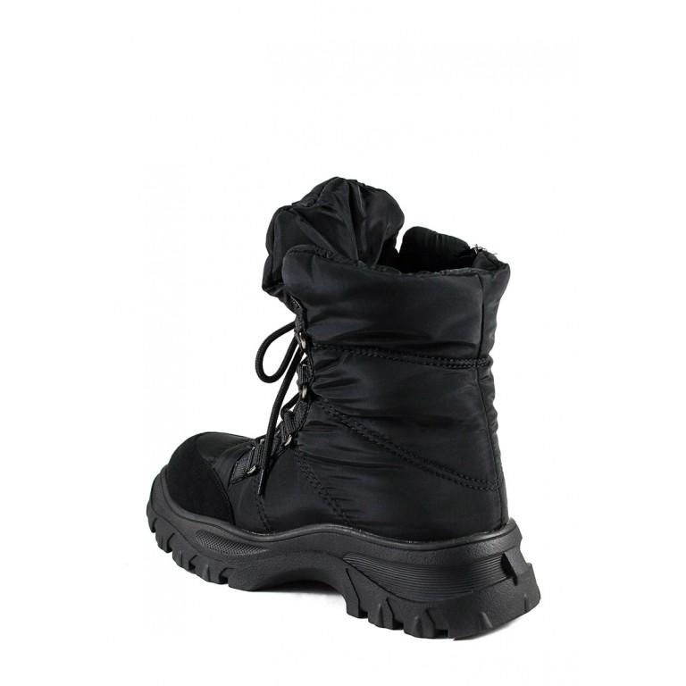 Ботинки зимние женские Prima D'arte 1616-F801-1 черные