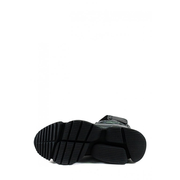 Ботинки зимние женские Prima D'arte 1552-F28-2 серые