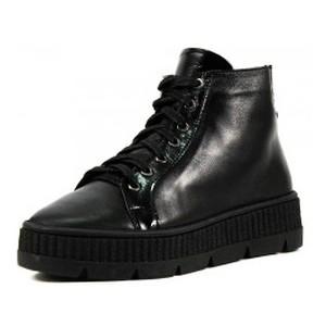 Ботинки зимние женские Lonza L-308-2248 LKMS черная кожа