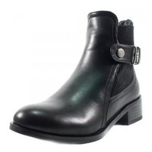 Ботинки демисезон женские Fabio Monelli F605-A030 черные