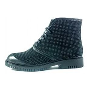 Ботинки демисезон женские Lonza L-303-2200ZL черная замша