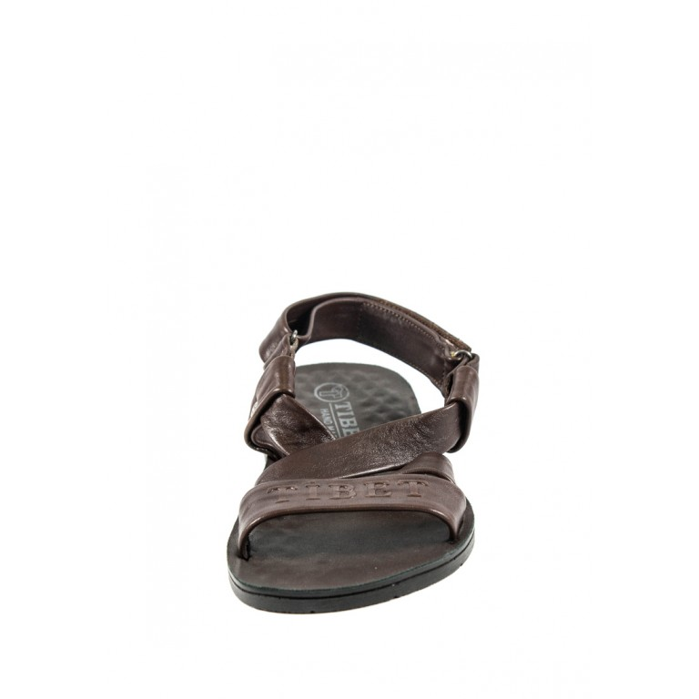 Сандалии мужские TiBet 06 коричневые