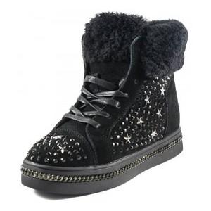 [:ru]Ботинки зимние женские Sopra FLM81-1 черные[:uk]Черевики зимові жіночі Sopra чорний 18187[:]