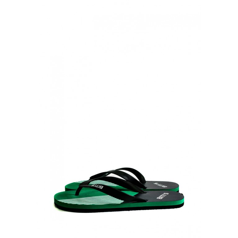 Вьетнамки мужские Bitis 9177-E черно-зеленые