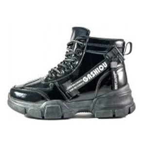 Ботинки демисезон женские Sopra 93-51 черный глянец