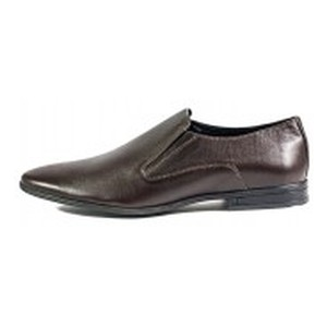Туфли мужские MIDA 110683-243 коричневая кожа