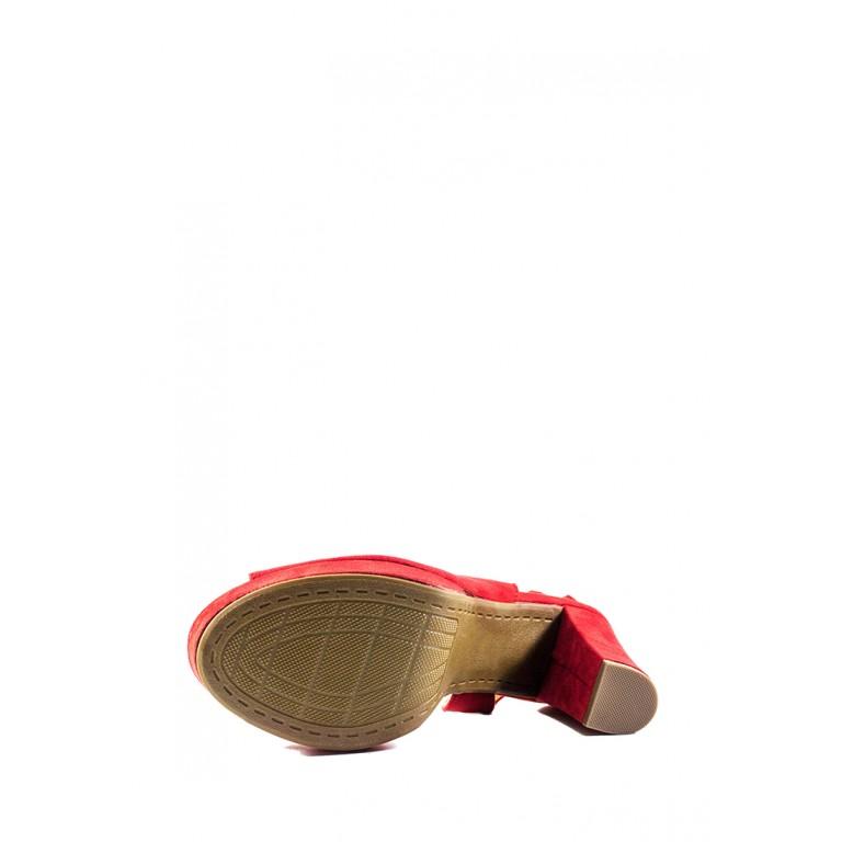 Босоножки женские летние Sopra СФ 1519-C9 красные