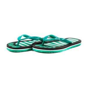 Шлепанцы детские 8951-А зелено-черный