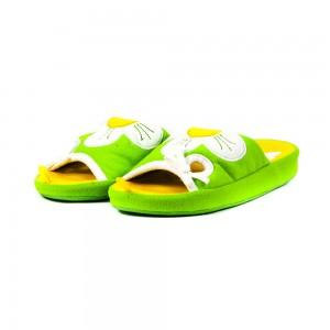 Тапочки комнатные детские Home Story HG-AO-15751S зеленые