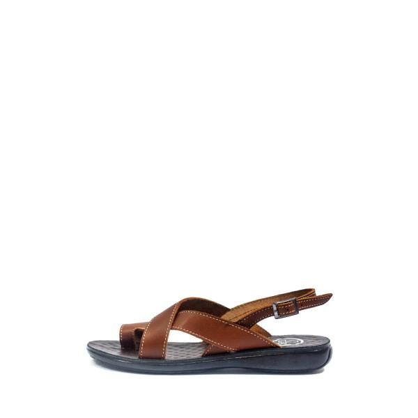 Босоножки женские TiBet 76 коричневые