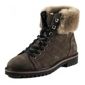 Ботинки зимние женские MIDA 24760-82Ш коричневые