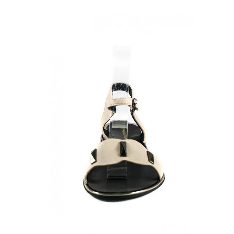 Босоножки женские Prima D'arte HR-8Y8626-5 светло-бежевые