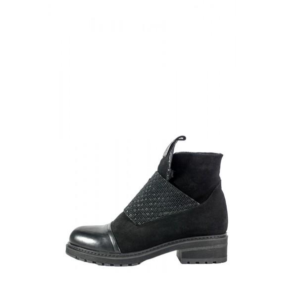 Ботинки зимние женские Lonza L-234-2157 ZLS черные