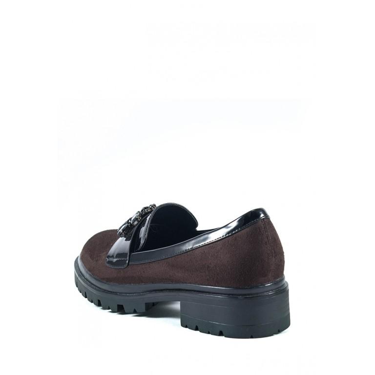 Туфли женские Elmira Х7-101-3 коричневые