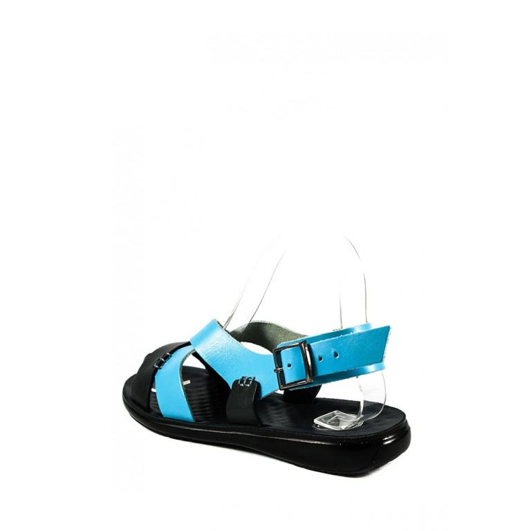 Сандалии женские TiBet 235-03-03-1 сине-голубые