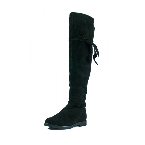 Сапоги зимние женские MIDA 24911-17Ш черные