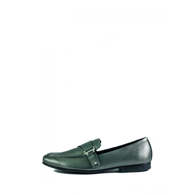 Туфли женские MIDA 21717-452 серые