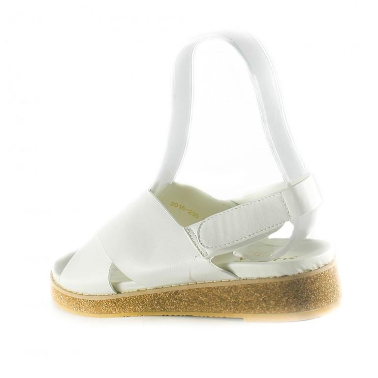 Сандалии женские Sopra 2016-230 белые