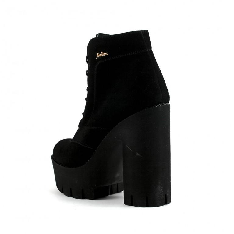 Ботинки демисезон женские SND SD7-71 черные