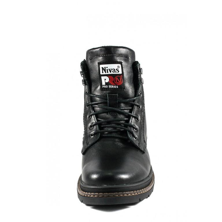Ботинки зимние мужские Nivas СФ Niv N3 ЧТ черные