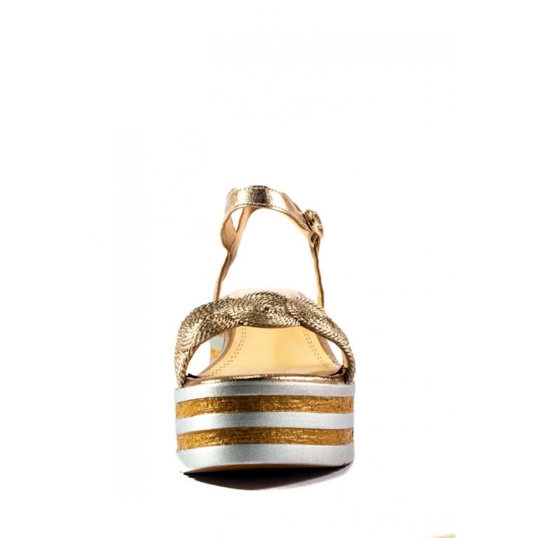 Босоножки женские летние Sopra СФ W19-7282 золотые