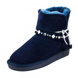 Угги женские Lorbacsa kll-50739 синий