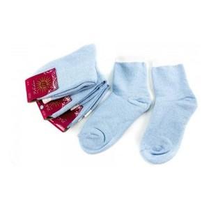 Носки женские Рубеж-Текс 100 голубые 36-39